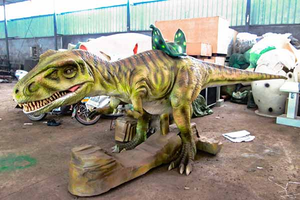 Walking T rex
