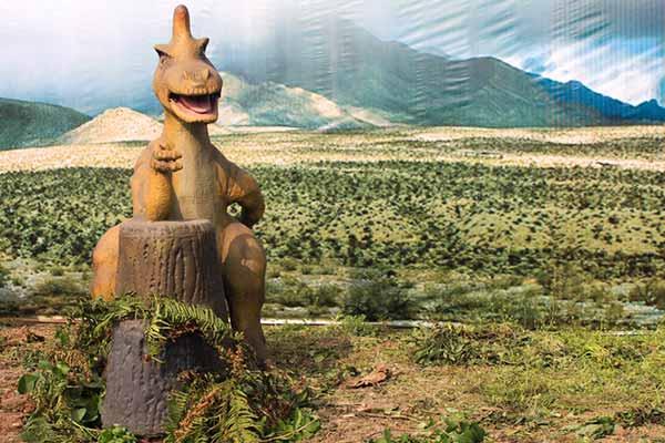 Wristing Dinosaur