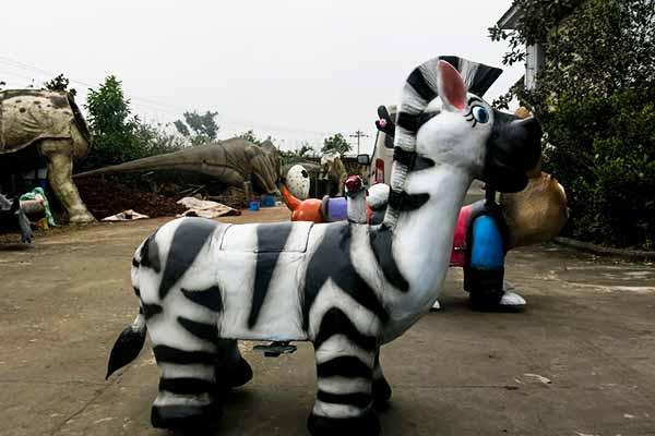 Zebra-Scooter