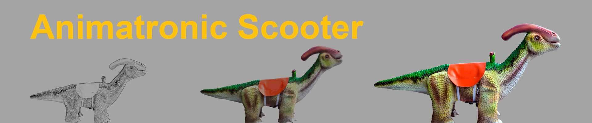 Animatronic Scooter