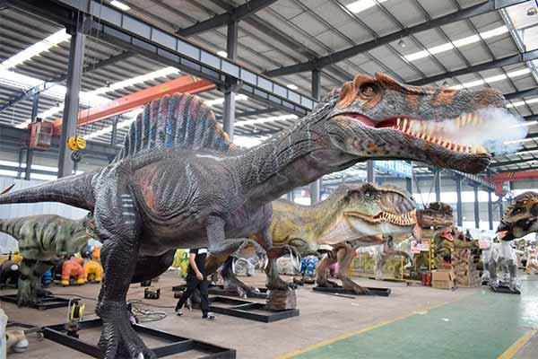 animatronic Spinosaurus