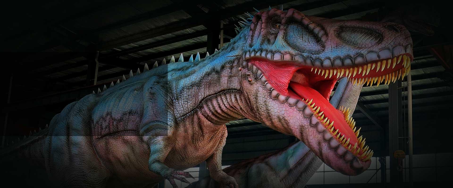 animatronic dinosaur