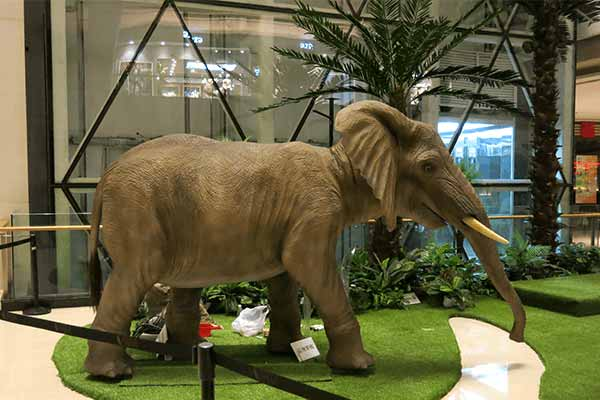 animatronic-elephant-for-shopping-mall