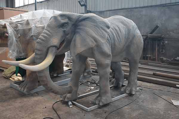 Animatronic Elephant After Painted