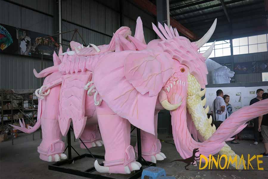 animatronic elephant frame