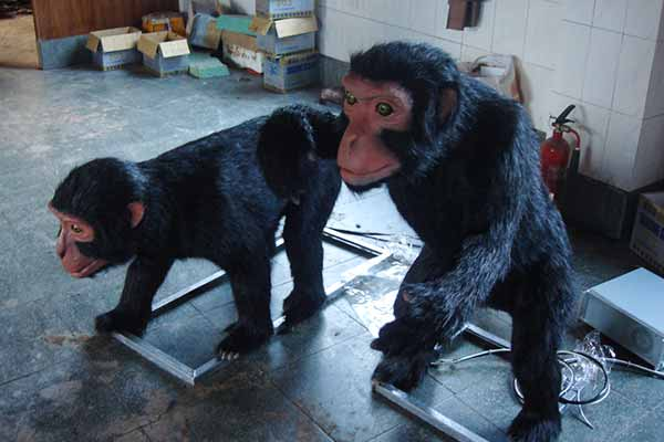 animatronic monkey