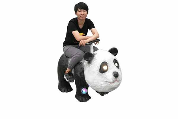 Animatronic Panda Scooter