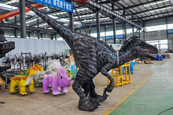 blue raptor costume