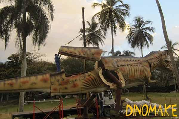 dinosaur-installing