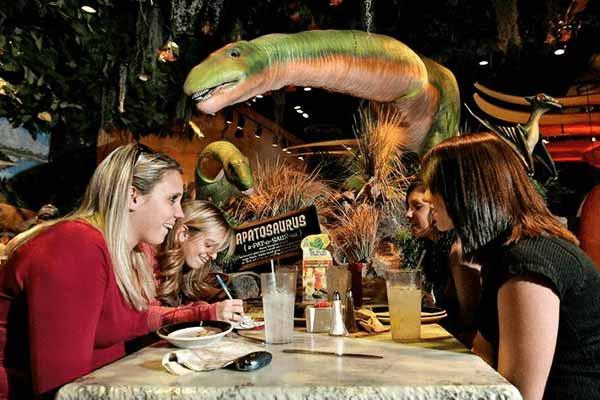dinosaur theme restaurant