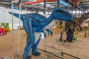 hidden legs raptor costume