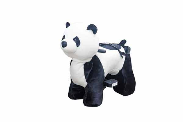 Plush Panda Scooter