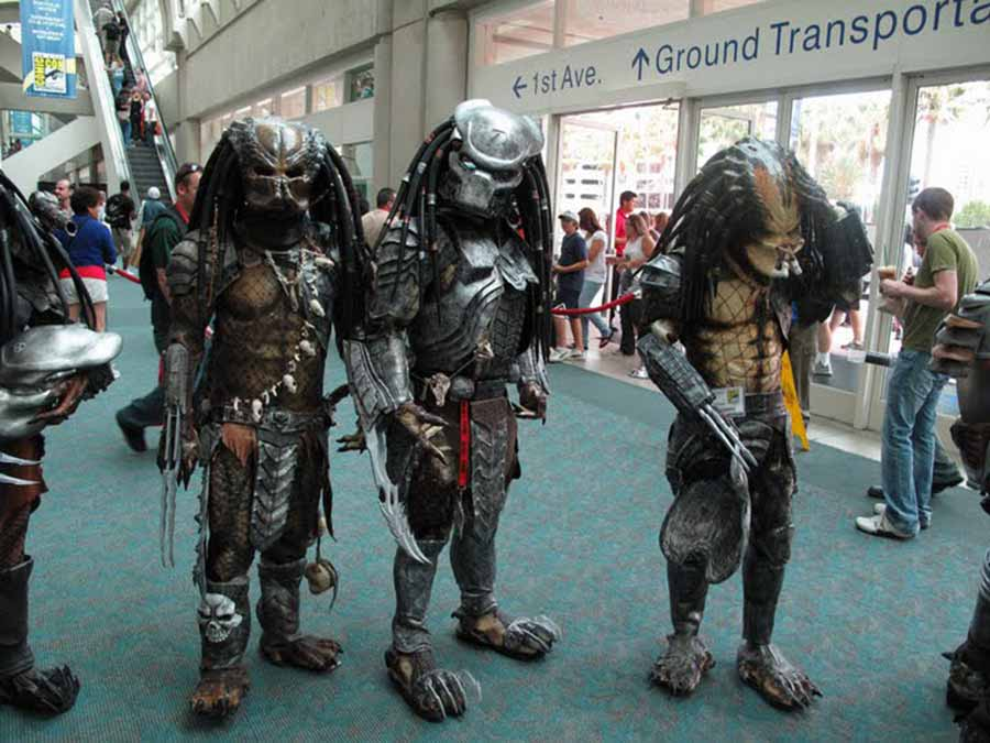 Predator cosplayers
