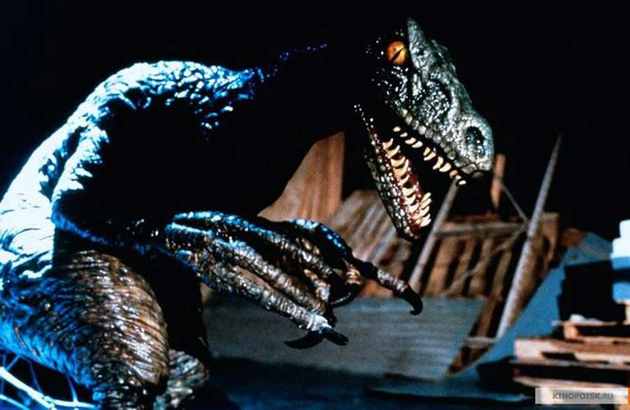 Velociraptor in Carnosaur Trilogy
