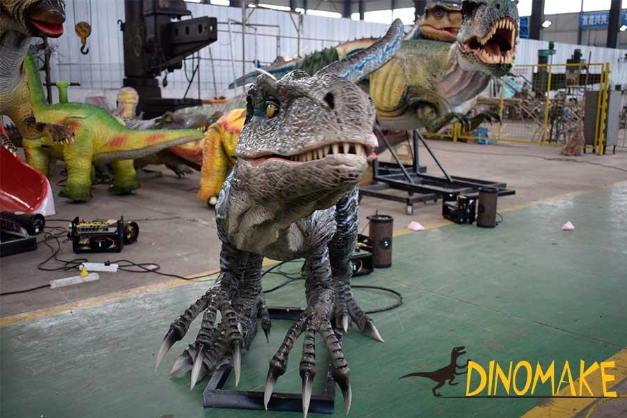 Velociraptor Sculpture