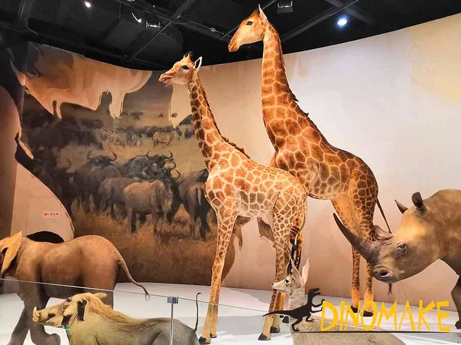 Giraffe replica