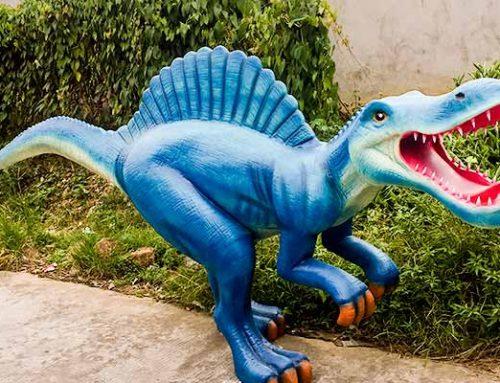 Fiberglass Spinosaurus