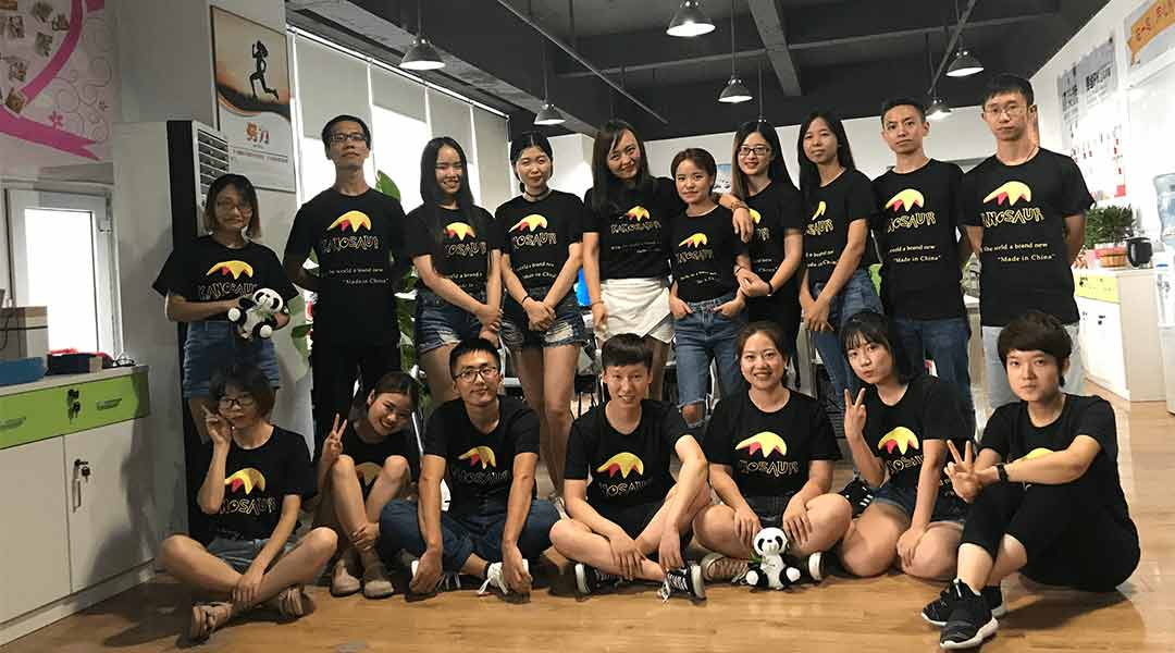 Sales team of KANOSAUR