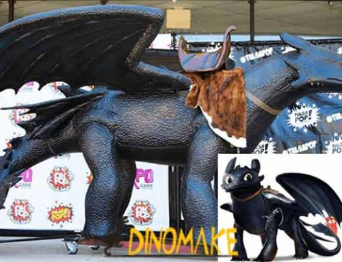 Custom Animatronics Toothless Dragon