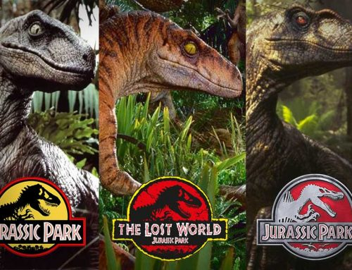 Velociraptors appearance in films