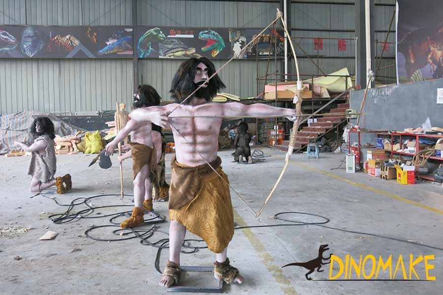 Animatronic Ape Man