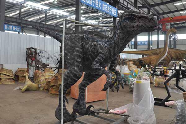 Blue Velociraptor suit