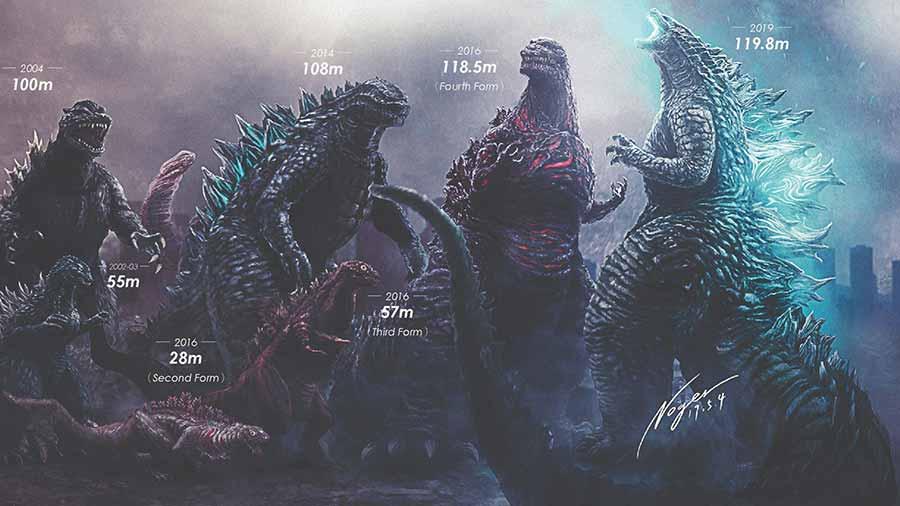 Godzilla in films