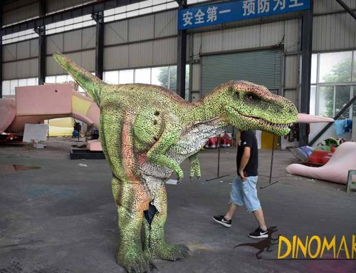 New material t rex costume
