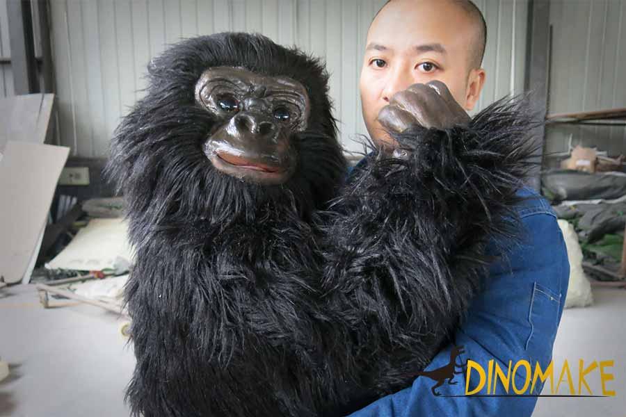 animatronic gorilla puppet