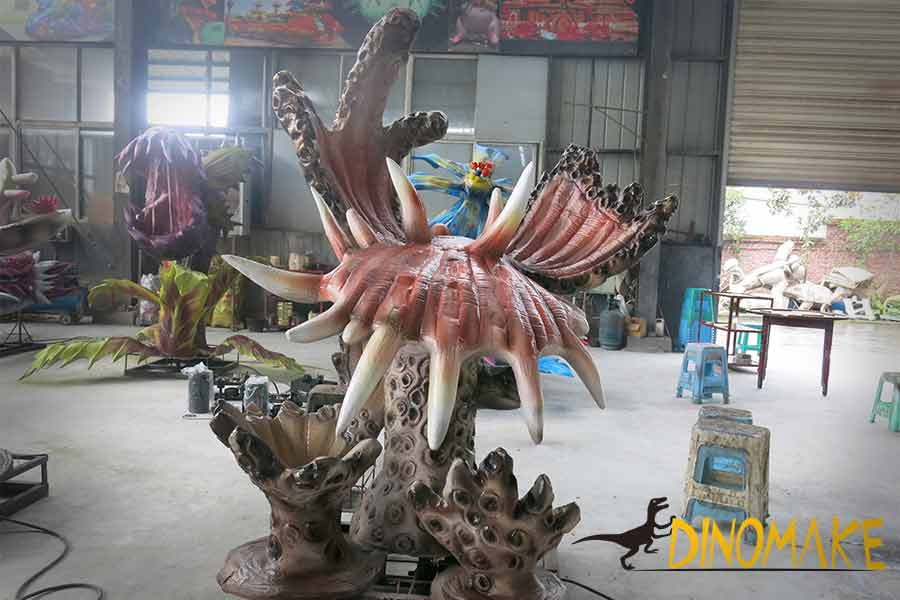 Animatronic marine plant