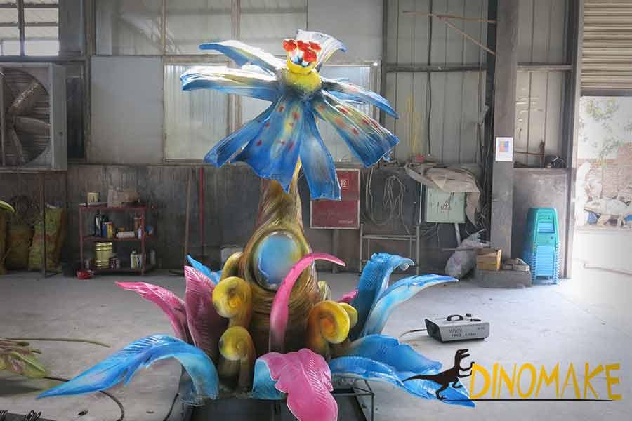 Animatronic flower