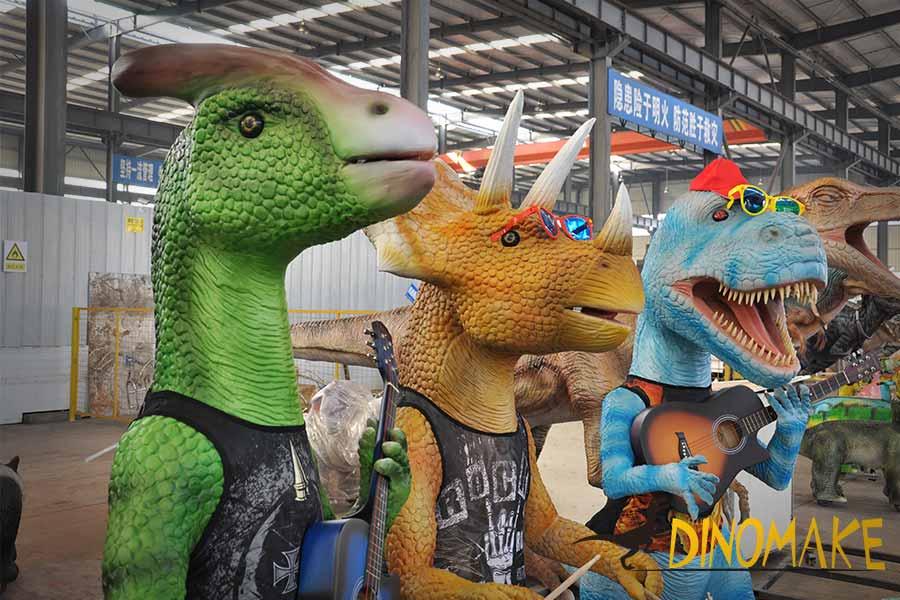 dinosaur band