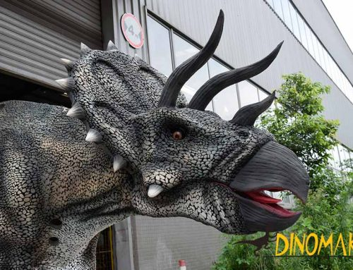 New Material Triceratops Dinosaur Costume Adult