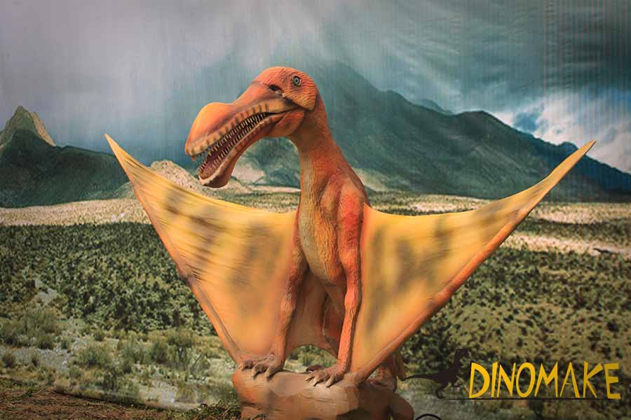 Pterosaur dinosaur yard art