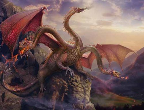 Dragon In Legends 2–Zmej Gorynych–Russian Three Head Dragon