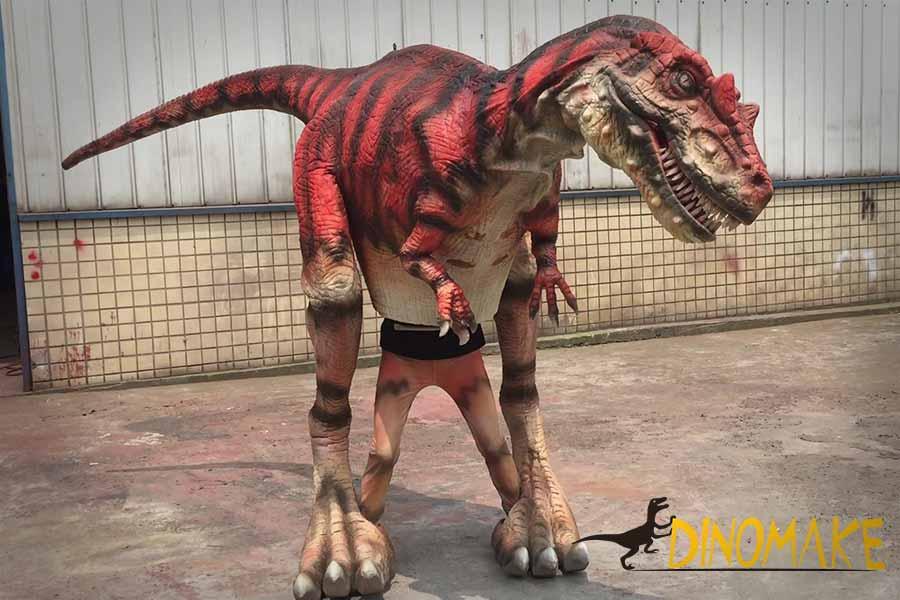 allosaurus dinosaur costume