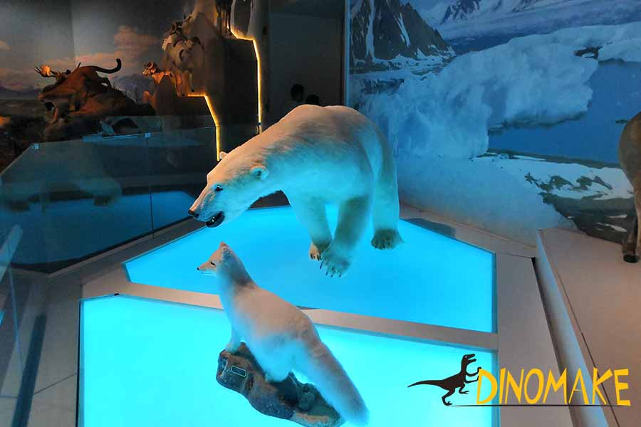 polar bear replica