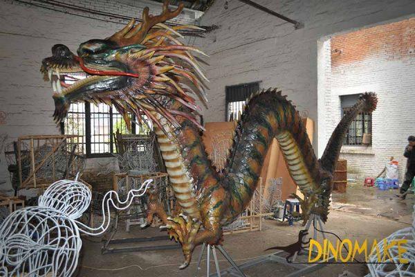 animatronic chinese dragon