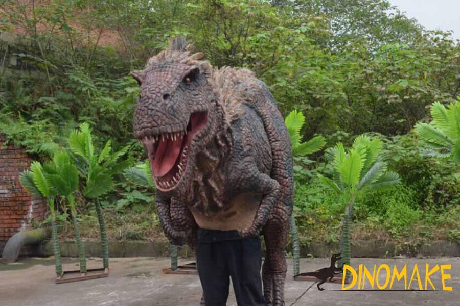 animatronic dinosaur suit