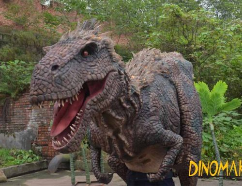 Animatronic Dinosaur Suit Feathered T-rex Costume