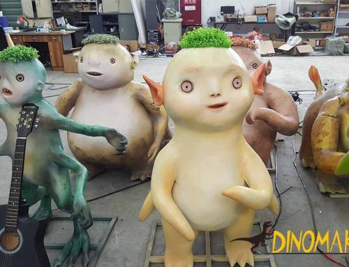 Customized Animatronic fairies For Amusement Parks