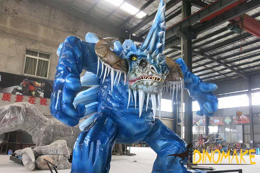 animatronic snow monster