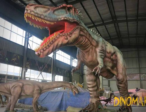 How to maintain the animatronic dinosaurs?