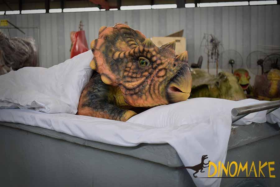 hand dinosaur puppet