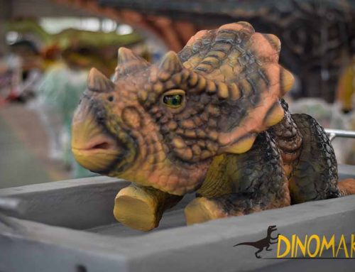 Cute Dinosaur Baby Puppet