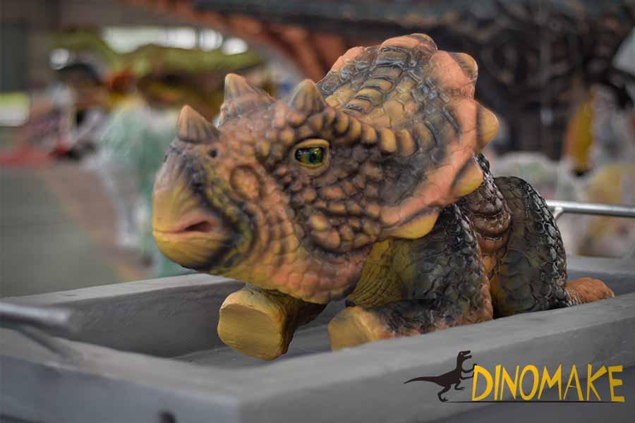 baby dinosaur puppet