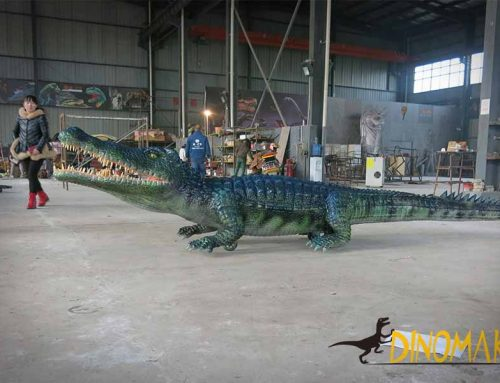 Remote Control Crocodile Animatronic
