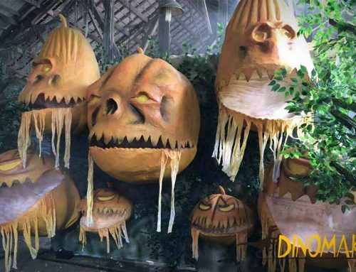 Incredible Halloween Animatronics for Haunted House