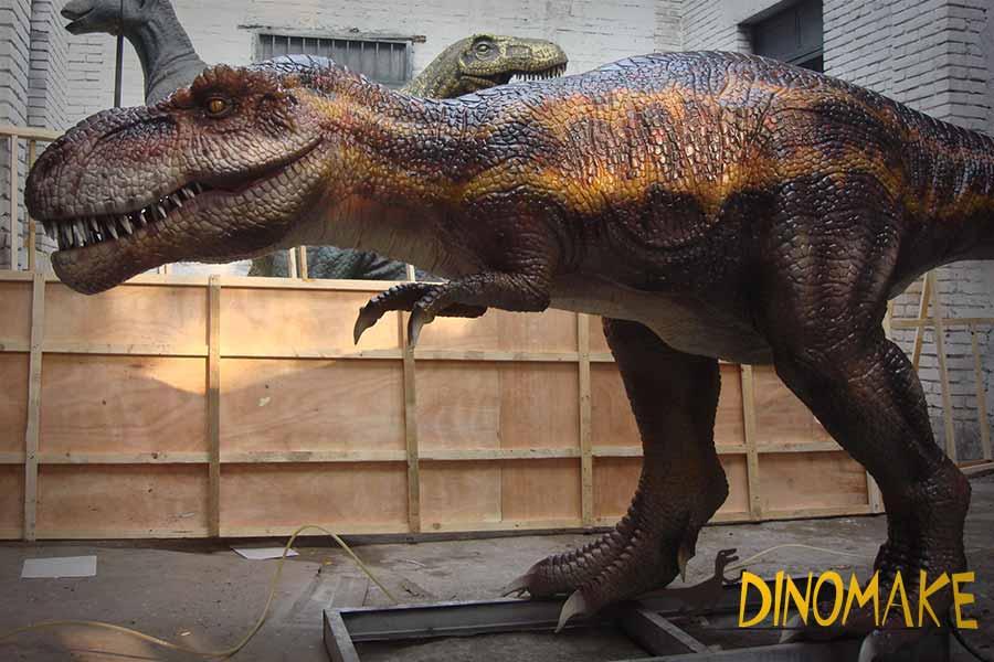 jurassic park t rex statue