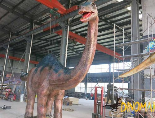 Andesaurus Mechanical Dinosaur For Theme Parks